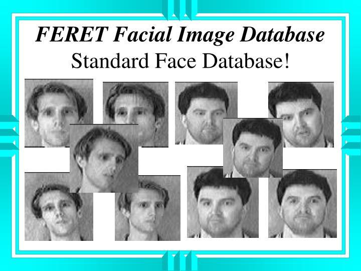 FERET Facial Image Database