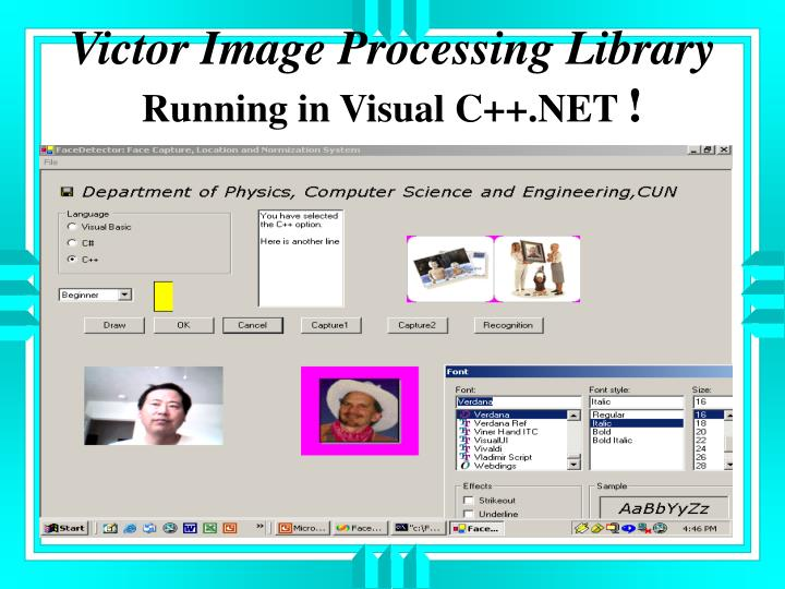 Victor Image Processing Library