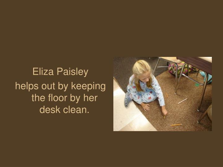 Eliza Paisley