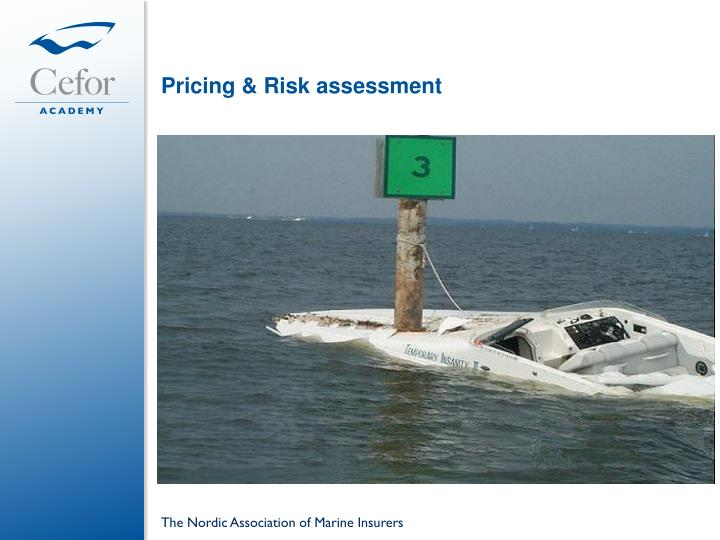 Pricing & Risk assessment