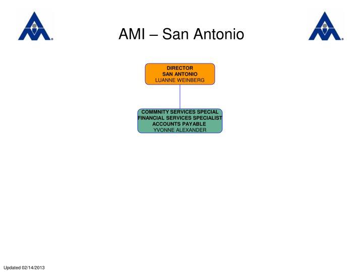 AMI – San Antonio