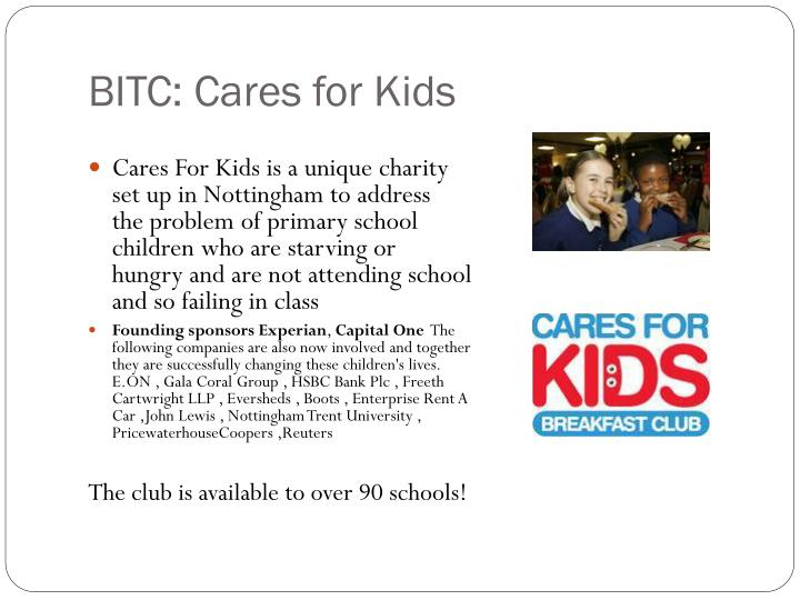 BITC: Cares for Kids