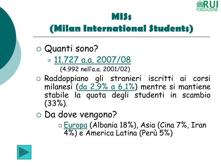 Miss milan international students1