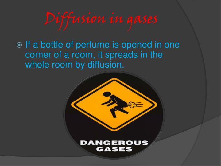 Diffusion in gases