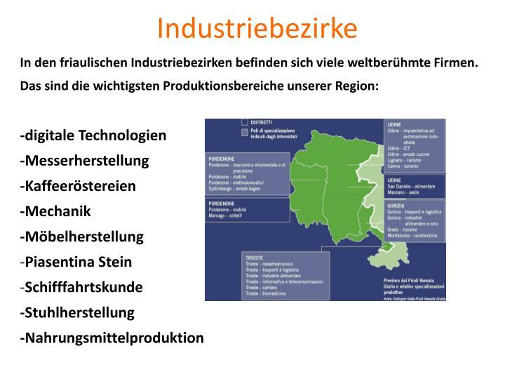 Industriebezirke