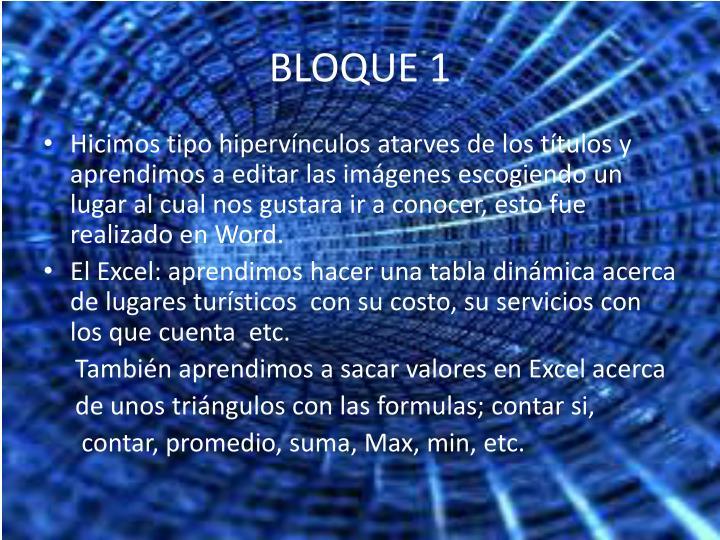 BLOQUE 1