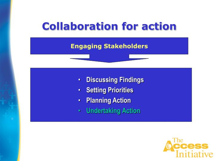 Collaboration for action
