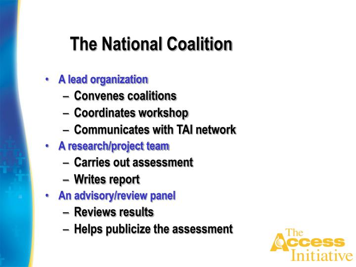 The national coalition