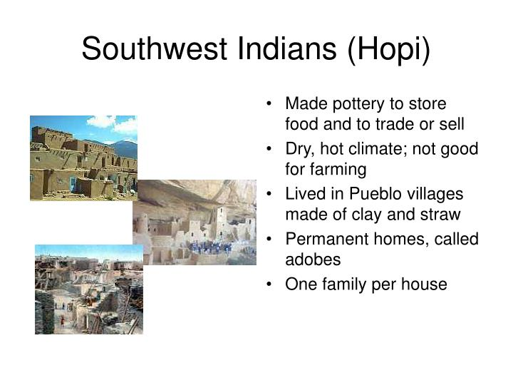 Southwest Indians (Hopi)