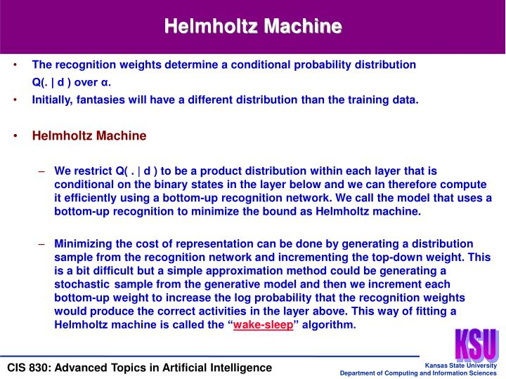 Helmholtz Machine