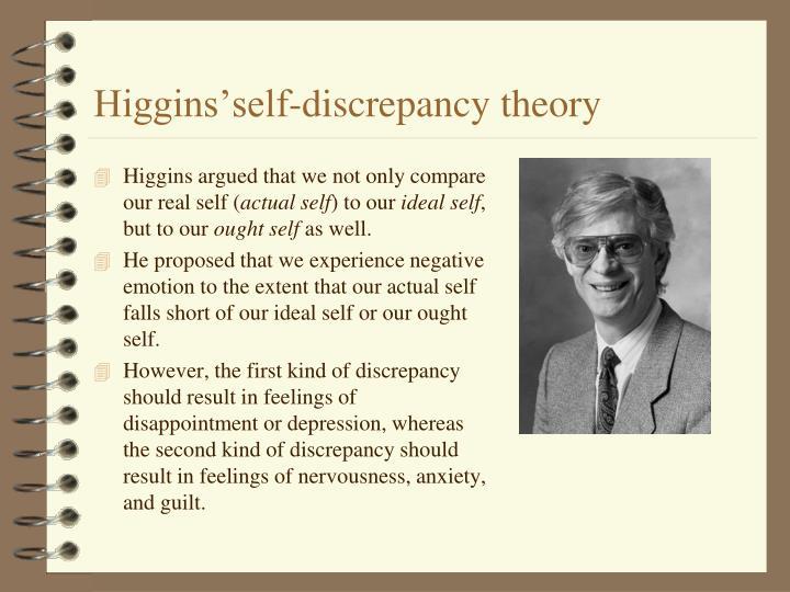 Higgins'self-discrepancy theory