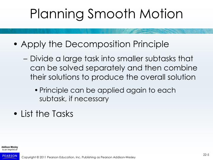 Planning Smooth Motion