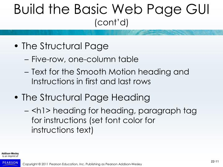 The Structural Page