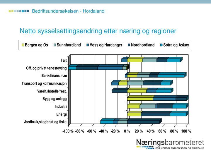Bedriftsundersøkelsen - Hordaland