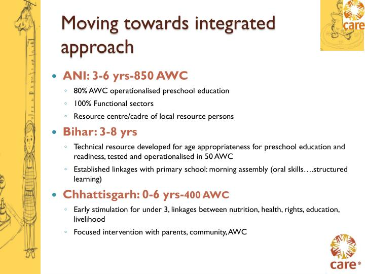 Moving towards integrated approach