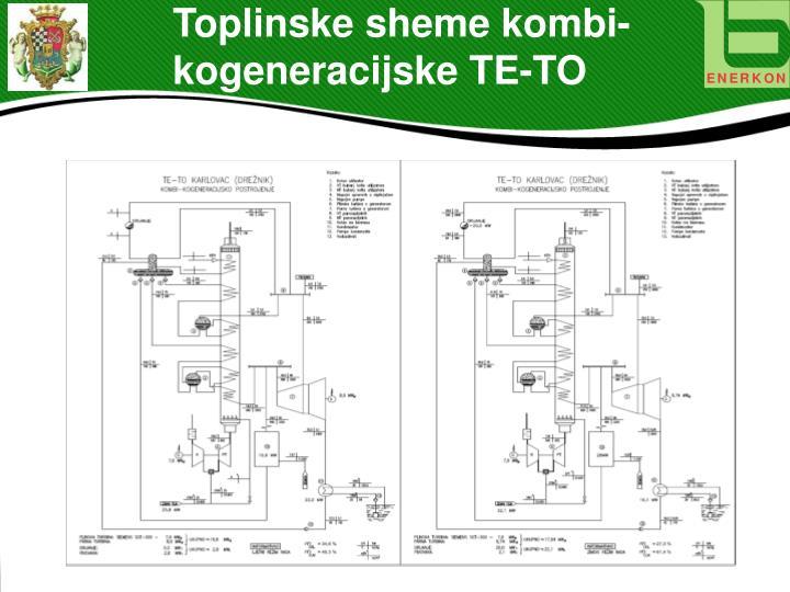 Toplinske sheme kombi-kogeneracijske TE-TO
