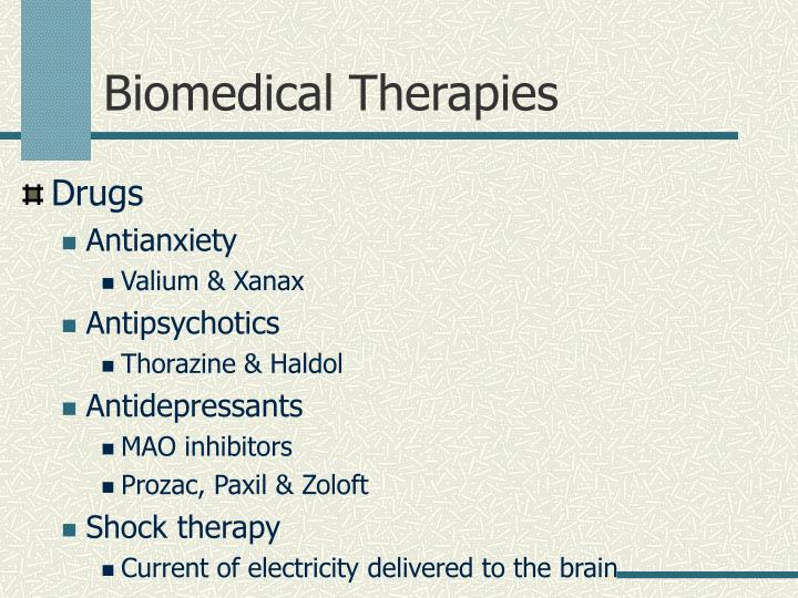 Biomedical Therapies