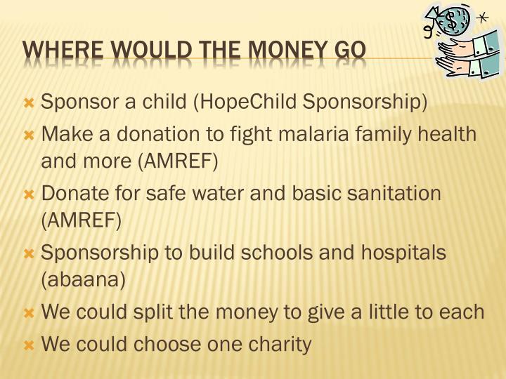 Sponsor a child (HopeChild Sponsorship)
