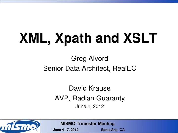 Xml xpath and xslt