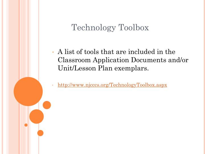 Technology Toolbox