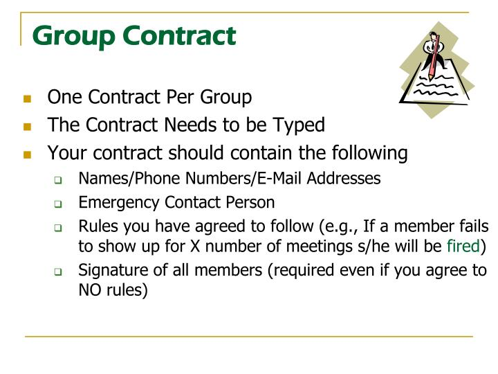 Group contract