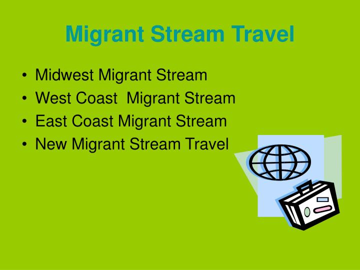 Migrant Stream Travel