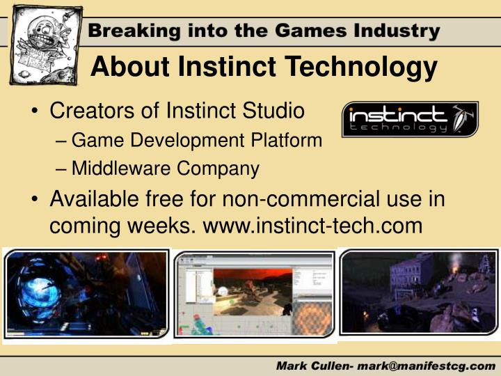 About Instinct Technology