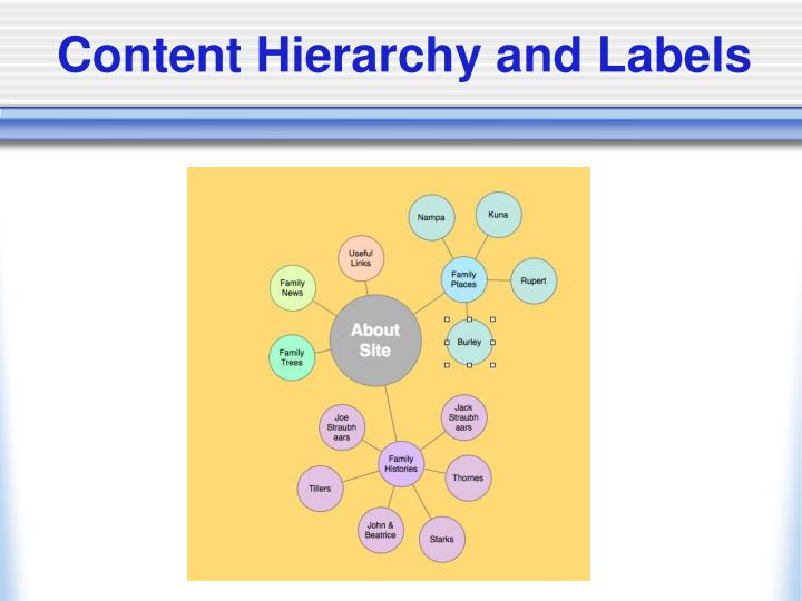 Content Hierarchy and Labels