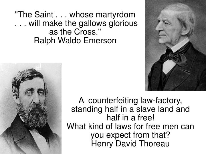 A  counterfeiting law-factory, standing half in a slave land and half in a free!