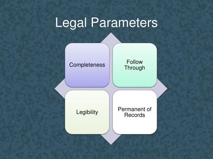 Legal Parameters