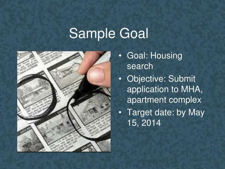Sample Goal