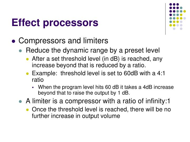 Effect processors