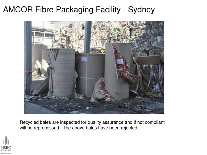 AMCOR Fibre Packaging Facility - Sydney