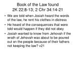 book of the law found 2k 22 8 13 2 chr 34 14 212