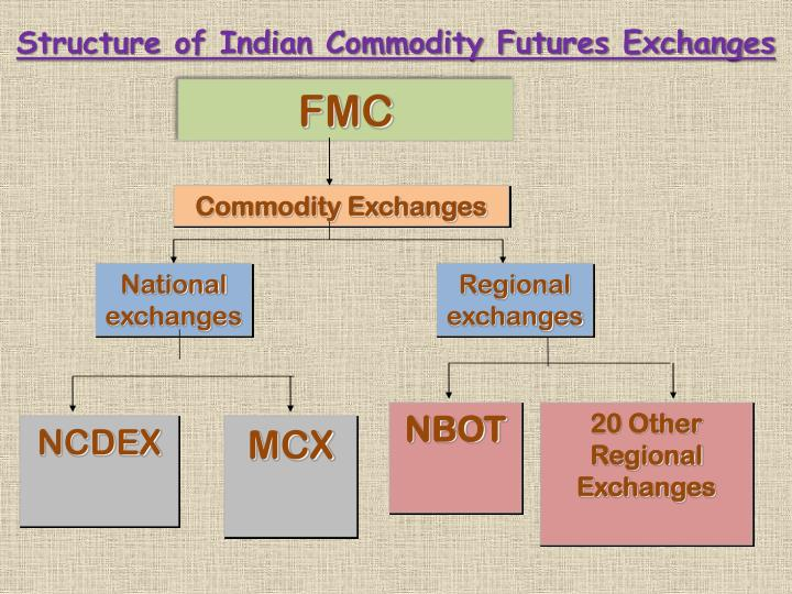 Structure of Indian Commodity Futures Exchanges