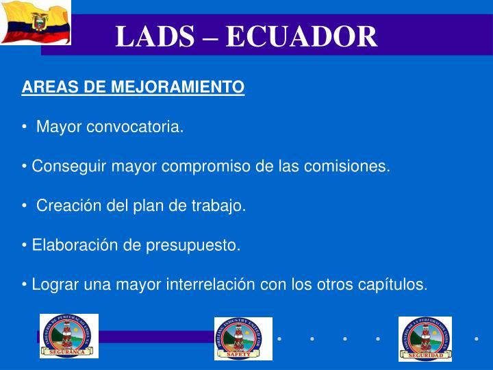 LADS – ECUADOR