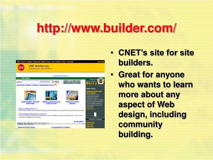 http://www.builder.com/