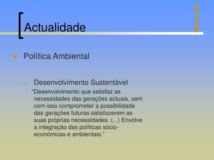 Actualidade