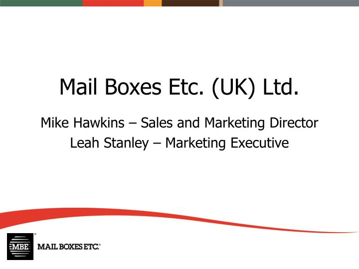 Mail boxes etc uk ltd