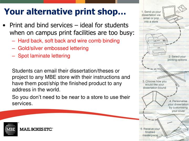 Your alternative print shop…
