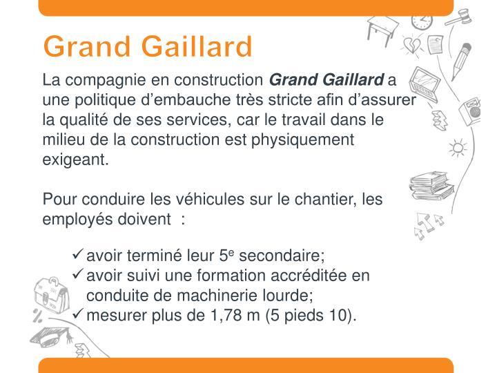 Grand Gaillard