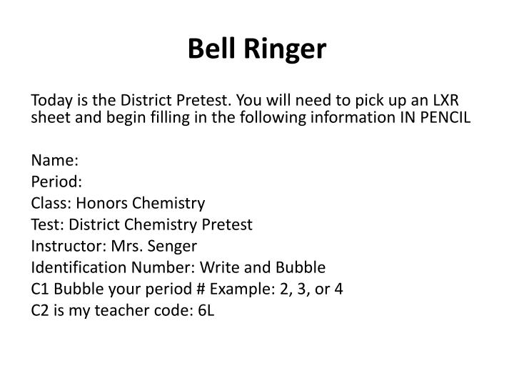 Bell Ringer