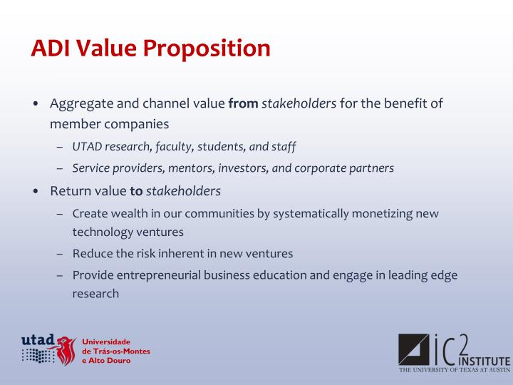 ADI Value Proposition