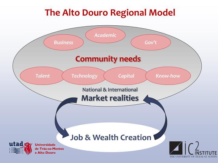 The Alto Douro Regional Model