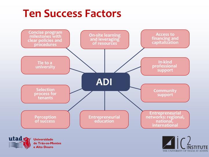 Ten Success Factors