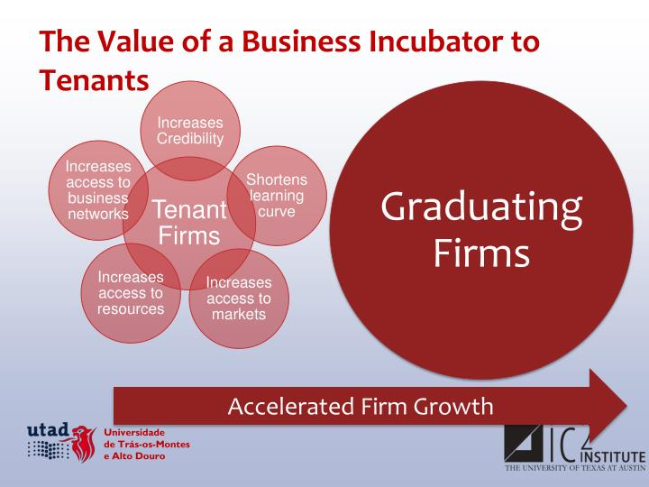 The Value of a Business Incubator to Tenants