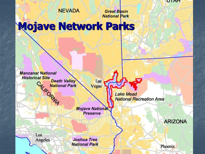 Mojave network parks