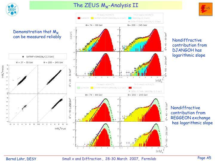 The ZEUS M