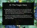 iv the tragic hero