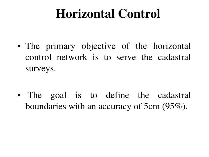 Horizontal Control